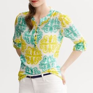 Banana Republic Milly Collection tunic